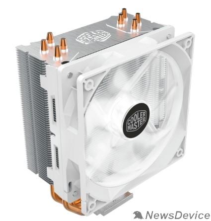 Вентилятор Cooler Master Hyper 212 LED White Edition, 600 - 1600 RPM, 150W, White LED fan, Full Socket Support RR-212L-16PW-R1