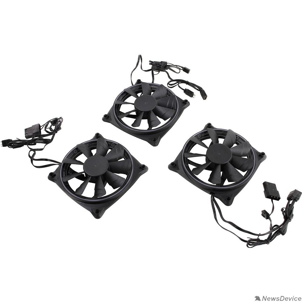Вентиляторы GameMAX RB300 Комплект вентиляторов RB300 3*120мм VORTEX RGB 3pin+4pin