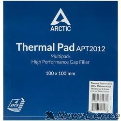 Термопаста Термопрокладка Thermal pad Basic100x100 mm/ t:0.5 Pack of 4   (ACTPD00020A)