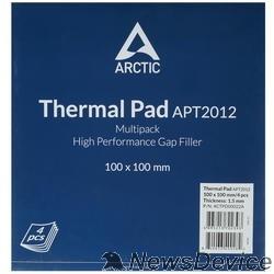 Термопаста Термопрокладка Thermal pad Basic 100x100 mm/ t:1.5 Pack of 4   (ACTPD00022A)