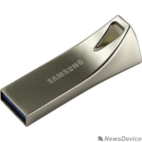 носитель информации Флеш накопитель 256GB SAMSUNG BAR Plus, USB 3.1, 300 МВ/s, серебристый MUF-256BE3/APC