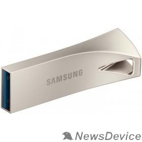носитель информации Флеш накопитель 64GB SAMSUNG BAR Plus, USB 3.1, 200 МВ/s, серебристый MUF-64BE3/APC