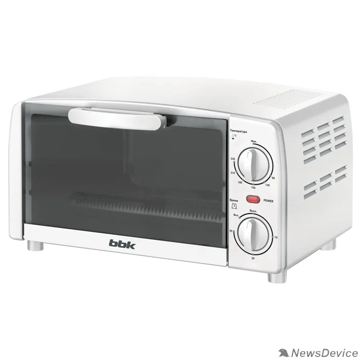 Микроволновые печи BBK BBK OE0912M Мини-печь BBK OE0912M, белый