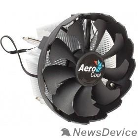 Вентилятор Кулер CPU Aerocool BAS (LGA 1151, 100W, 24 dB, 1200 rpm, 120мм, 3pin, алюминий) RTL
