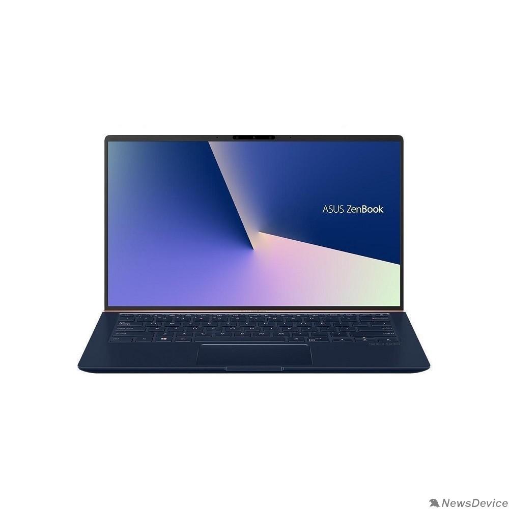 """Ноутбук ASUS Zenbook 14 UX434FQ-A5038R 90NB0RM5-M01670 Royal Blue 14"""" FHD i7-10510U/16Gb/512Gb SSD/MX350 2Gb/W10Pro"""