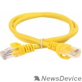 Патч-корды, Патч-панели ITK Коммутационный шнур кат. 5Е UTP LSZH 1м желтый PC05-C5EUL-1M