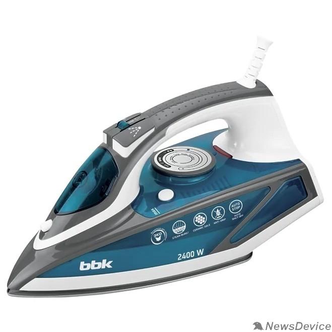 Утюги BBK ISE-2402 (BL) Утюг, синий