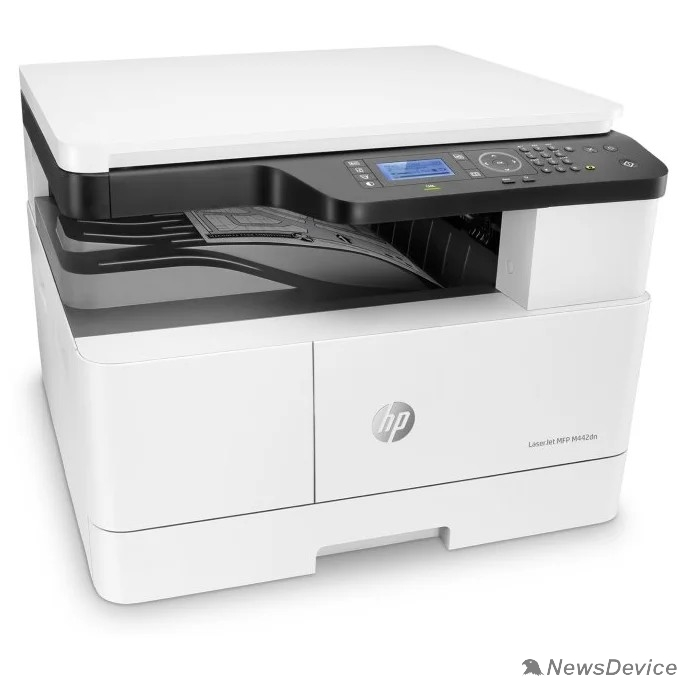 Принтер HP LaserJet MFP M442dn 8AF71A#B19 (p/c/s, A3, 1200dpi, 24ppm, 512Mb, 2trays 100+250, Scan to email/SMB/FTP, PIN printing, USB/Eth, Duplex, cart. 4000 pages & USB cable in box, 1y warr, repl. 2KY38A)