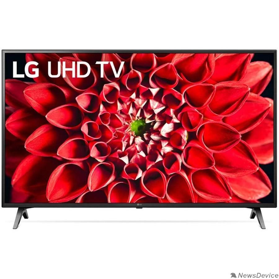 """Телевизор LG 43"""" 43UN71006LB черный Ultra HD/100Hz/DVB-T/DVB-T2/DVB-C/DVB-S/DVB-S2/USB/WiFi/Smart TV (RUS)"""