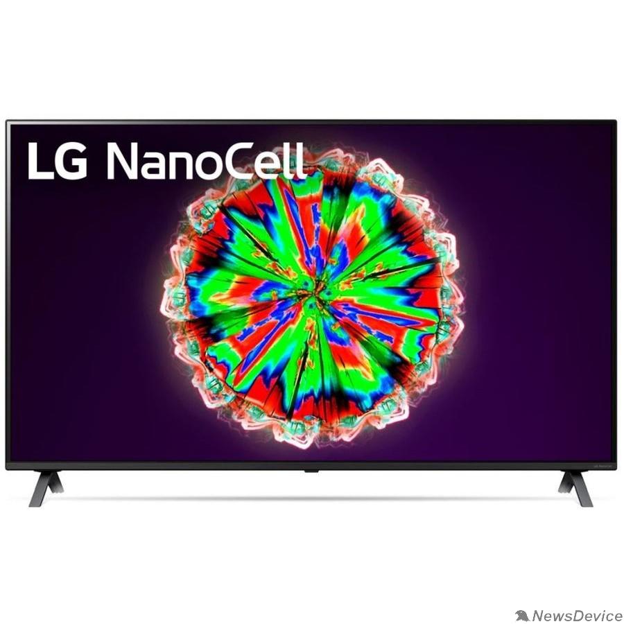 """Телевизор LG 65"""" 65NANO806NA NanoCell черный Ultra HD/200Hz/DVB-T2/DVB-C/DVB-S/DVB-S2/USB/WiFi/Smart TV (RUS)"""