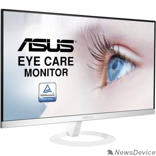 "Монитор ASUS LCD 23.8"" VZ249HE-W белый IPS LED 1920x1080 8bit(6bit+FRC) 75Hz 5ms 178/178 250cd 1000:1 D-Sub HDMI1.4"