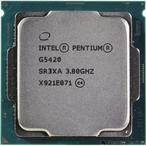 Процессор CPU Intel Pentium Gold G5420 Coffee Lake BOX 3.8ГГц, 4МБ, Socket1151v2