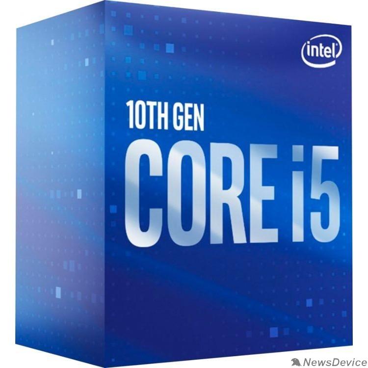 Процессор CPU Intel Core i5-10600 Comet Lake BOX 3.3GHz, 12MB, LGA1200