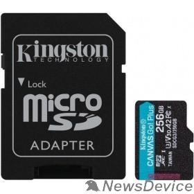 Карта памяти  Карта Памяти micro SDXC 256Gb Kingston Canvas Go Plus UHS-I U3 A2 + ADP (170/90 MB/s) SDCG3/256GB