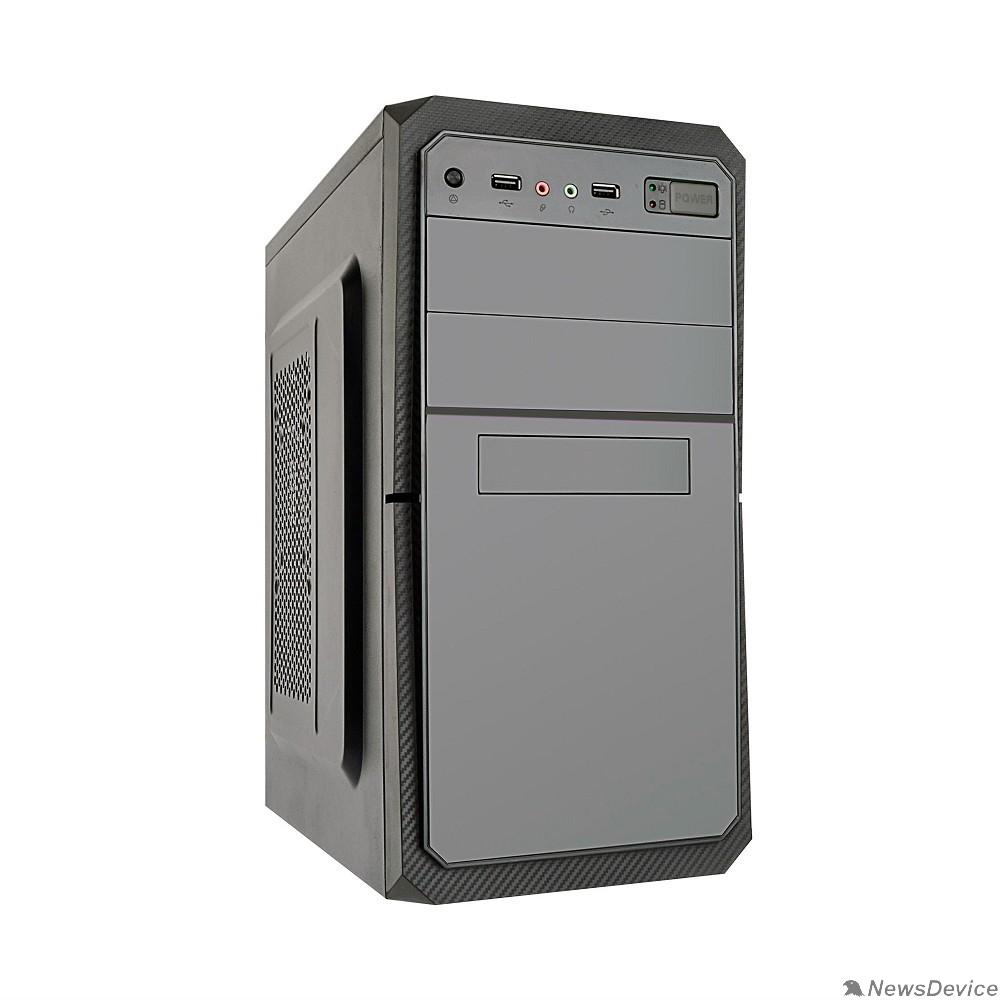Корпуса Exegate EX284023RUS Корпус Minitower BA-202 Black, mATX, <AA500, 80mm>, 2*USB, Audio