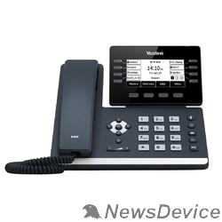 "VoIP-телефон YEALINK SIP-T53W SIP-телефон, экран 3.7"", 12 SIP аккаунтов, Wi-Fi, Bluetooth, Opus, 8*BLF, PoE, USB, GigE, БЕЗ БП"