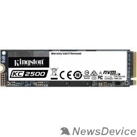 накопитель Накопитель SSD Kingston PCI-E NVMe M.2 1000Gb SKC2500M8/1000G KC2500 2280 (SKC2500M8/1000G)