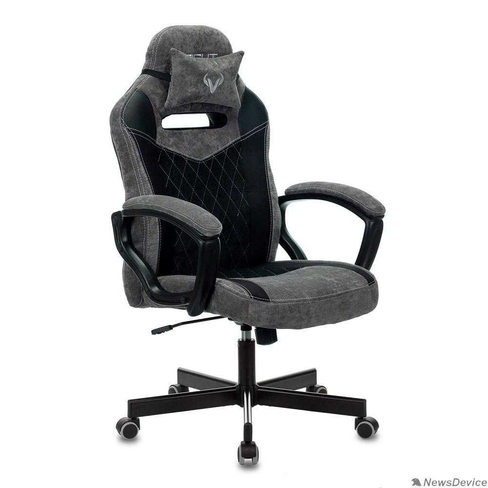 Офисное кресло или стул Кресло игровое Бюрократ VIKING 6 KNIGHT B FABRIC черный крестовина металл 1380214