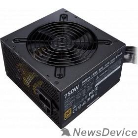Блок питания Power Supply Cooler Master MWE Bronze, 750W, ATX, 120mm, 8xSATA, 4xPCI-E(6+2), APFC, 80+ Bronze MPE-7501-ACAAB-EU