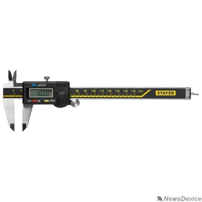 Штангенциркули STAYER PROFESSIONAL (34410-150) Штангенциркуль электронный, нерж сталь, 150мм