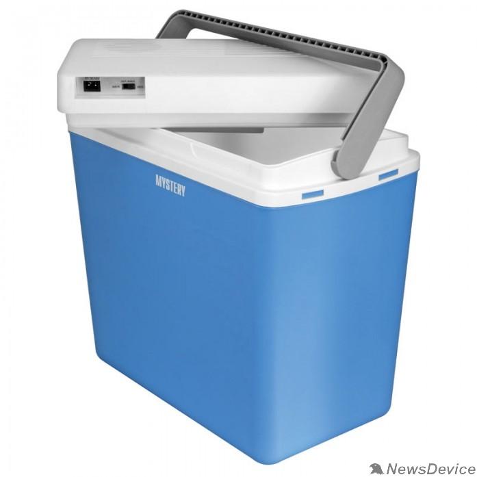 Разное  MYSTERY MTC-243 Автомобильный термоэлектрический холодильник. Объем 24 литра. Напряжение: DC 12В. Потребляемая мощность в режиме охлаждения: 54Вт. Потребляемая мощность в режиме нагрева: 45Вт. Вес: 3к