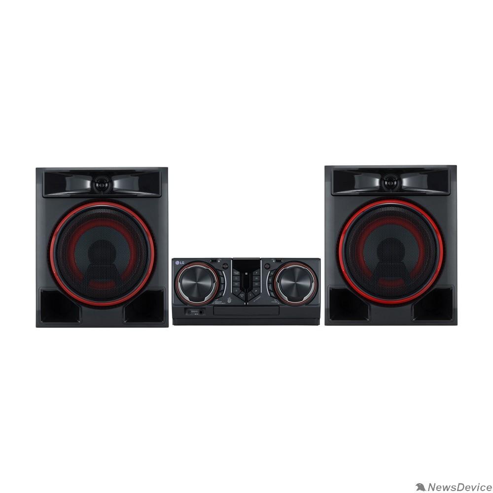 Музыкальный центр LG CL65DK черный 950Вт/CD/CDRW/DVD/DVDRW/FM/USB/BT (в комплекте: диск 2000 песен)