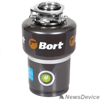 Блендер Bort Измельчитель пищевых отходов TITAN 5000 560 Вт;  5,2 кг/мин; 3200 об/мин; 1400 мл; Нержавеющая сталь; набор аксессуаров 4 шт 1275783