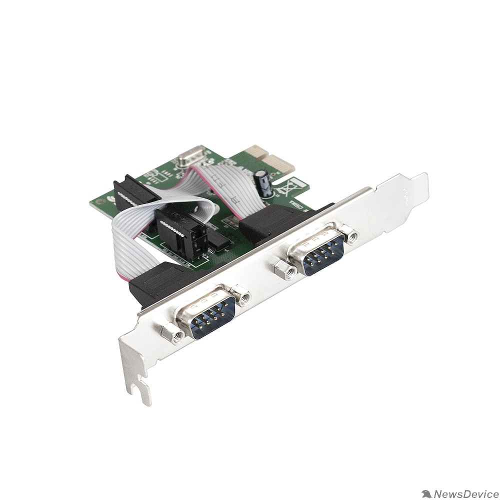 USB-концентраторы Exegate EX283706RUS Контроллер EXE-307 PCI-E, 2*COM port (OEM)