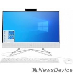 "Моноблок HP 22-df0039ur 14P68EA White 21.5"" FHD Athlon 3050U/4Gb/128Gb SSD/DOS/k+m"