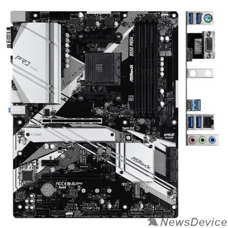Материнская плата Asrock B550 PRO4 AM4, AMD B550, ATX BOX