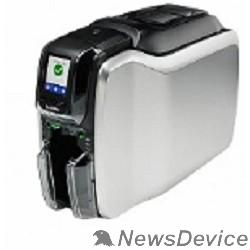 Zebra  принтеры Zebra Printer ZC300, Single Sided, UK/EU Cords, USB, Ethernet & WiFi, Windows Driver