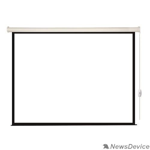 Экраны LUMIEN Lumien Eco Control LEC-100103 Экран с электроприводом 220x220 см (раб. область 214х214 см) Matte White черная кайма по периметру 1:1