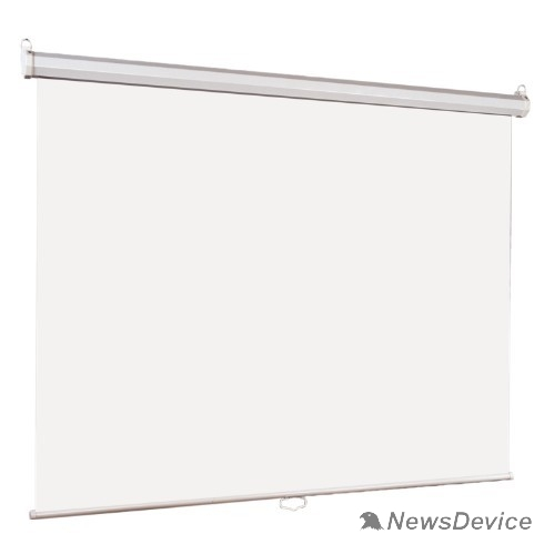 Экраны LUMIEN Lumien Eco Picture LEP-100110 Настенный экран  220х220см (рабочая область 214х214 см) Matte White восьмигранный корпус, возможность потолочн./настенного крепления, уровень в комплекте, 1:1 (треуголь