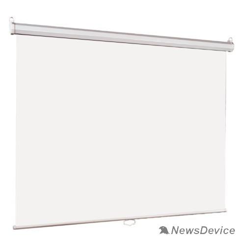 Экраны LUMIEN Lumien Eco Picture LEP-100111 Настенный экран  120х160см (рабочая область 114х154 см) Matte White восьмигранный корпус, возможность потолочн./настенного крепления, уровень в комплекте, 4:3 (треуголь