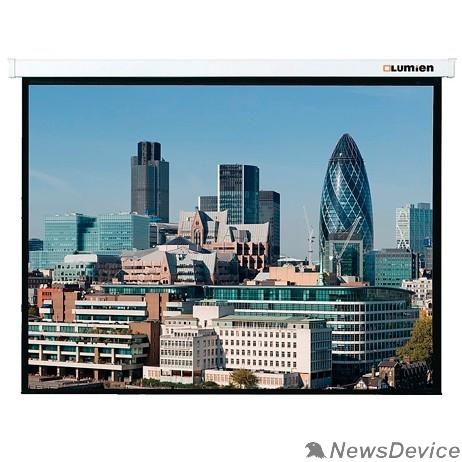 """Экраны LUMIEN Lumien Master Control LMC-100213 Экран с электроприводом  163х220 см (раб. область 119х212см) (95"""") High Contrast черн. кайма сверху 40 см 16:9"""