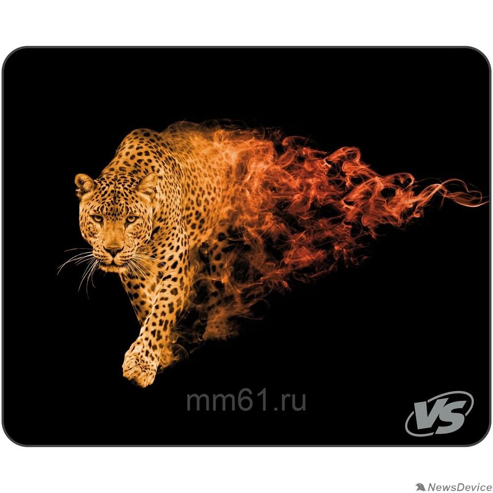"""Коврики VS Коврик для компьютерной мыши """"Flames"""", """"Леопард"""", (240*320*3 мм), ткань+резиновое основание VS_A4803"""