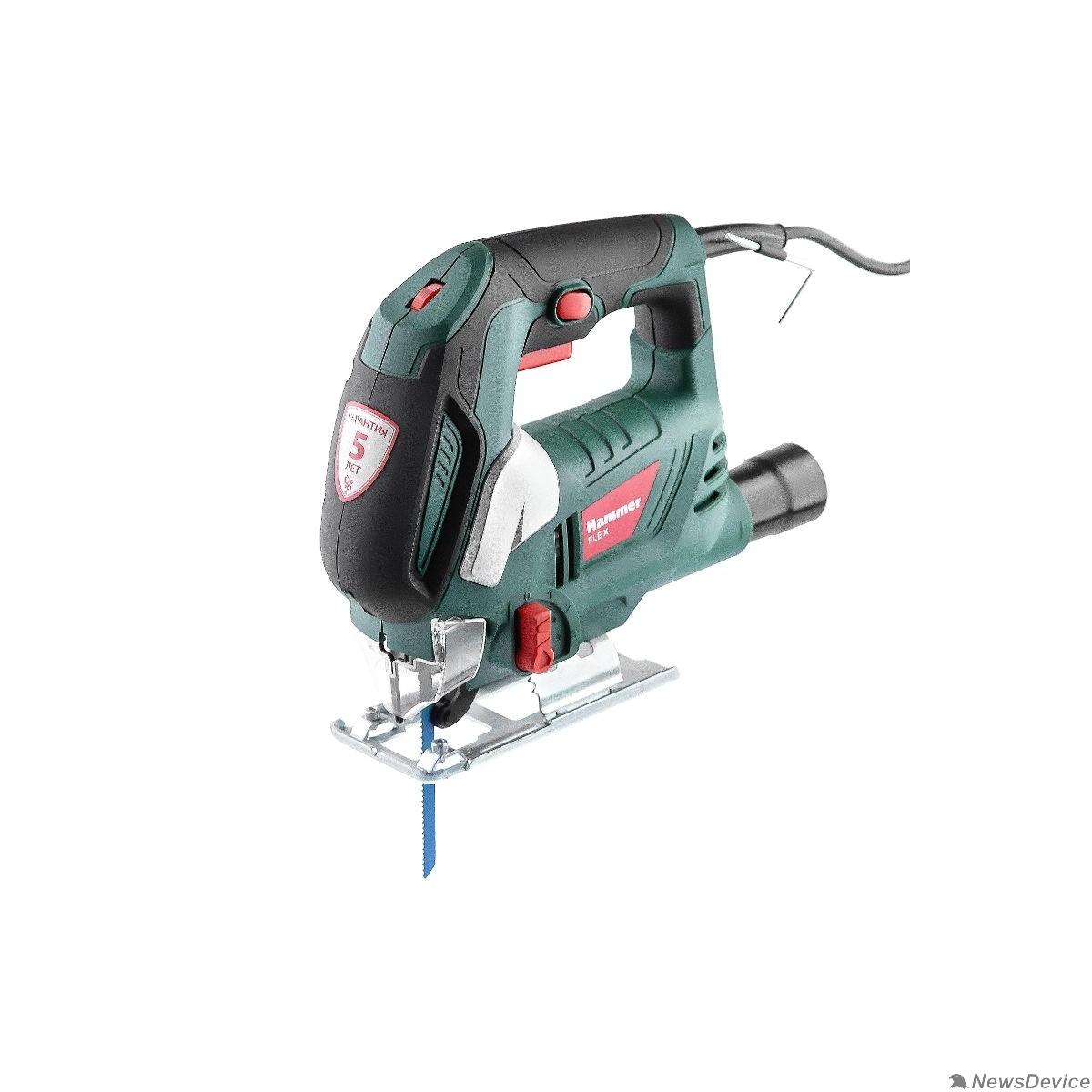 Лобзик Hammer Flex LZK790L Лобзик  630443 790Вт 0-3000ход/мин 90мм-дер 8мм-мет маятник