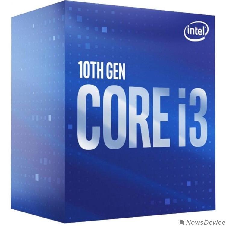 Процессор CPU Intel Core i3-10100 Comet Lake BOX 3.6GHz, 6MB, LGA1200