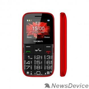 Мобильный телефон TEXET TM-B227 Мобильный телефон цвет красный