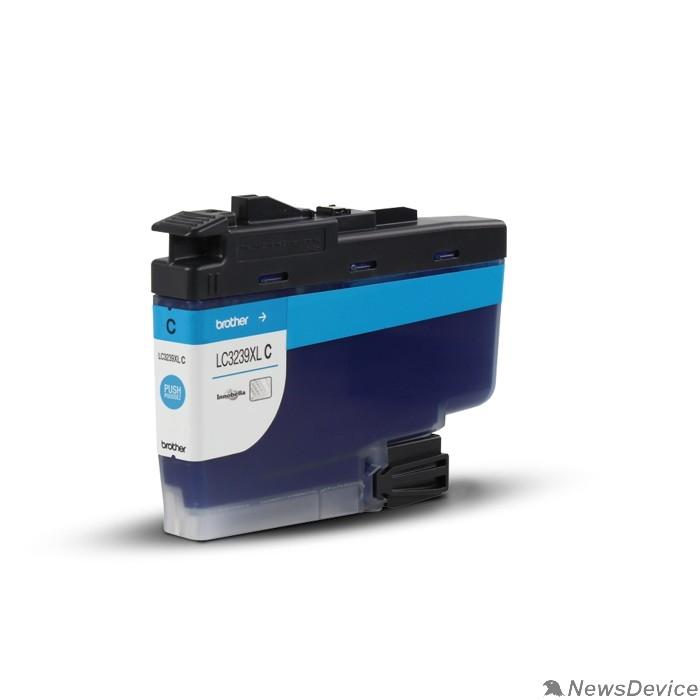 Расходные материалы Brother LC-3239XLC Картридж HLJ6000DW/MFCJ5945DW/MFCJ6945DW голубой (5000стр) (LC3239XLC)