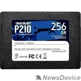 носитель информации Patriot SSD 256Gb P210 P210S256G25 SATA 3.0
