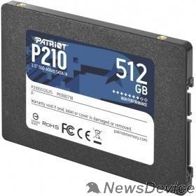 носитель информации Patriot SSD 512Gb P210 P210S512G25 SATA 3.0