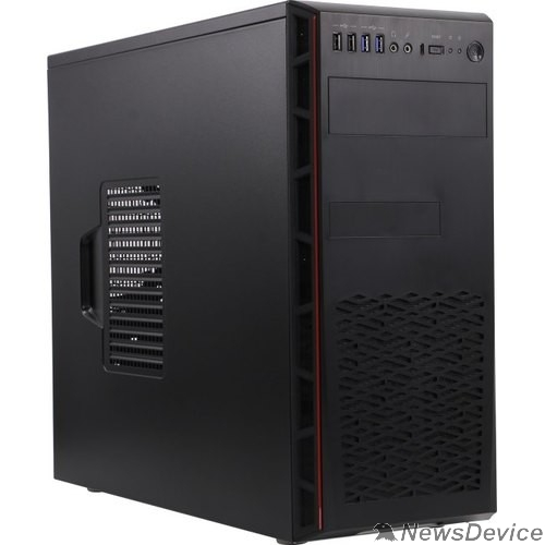 Корпус Midi Tower InWin EAR065BL w/o PSU  U3.0*2+U2.0*2+Type3.1C+A(HD) Midi Tower ATX 6139497