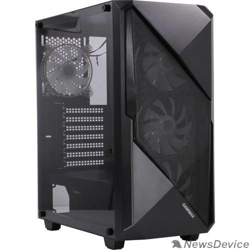 Корпуса GameMax REVOLT ATX,Черн,USB3.0,Зак.стекло,1*120мм вент+контроллер без БП MFG.3606