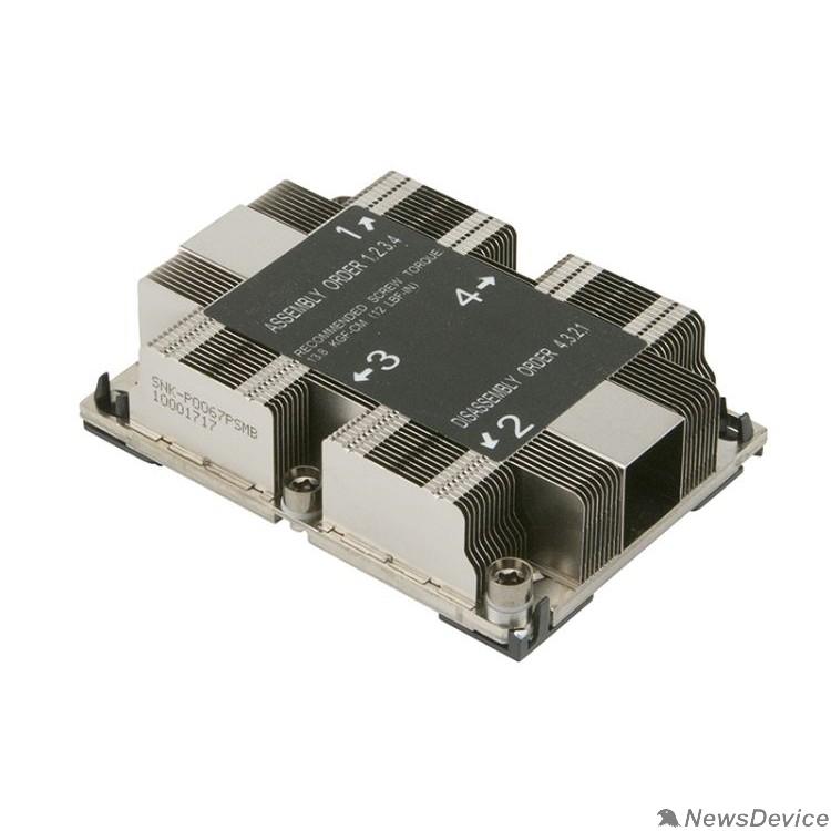 Опция к серверу Supermicro Heatsink 1U SNK-P0067PSMB