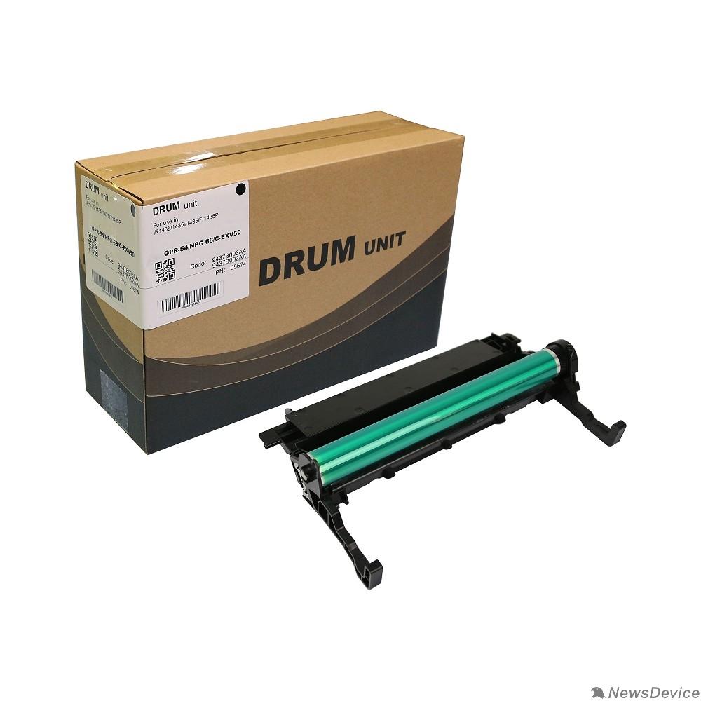 Запасные части для принтеров и копиров Драм-юнит GPR-54, NPG-68, C-EXV50 для CANON iR1435 (CET), 30000 стр., CET5674