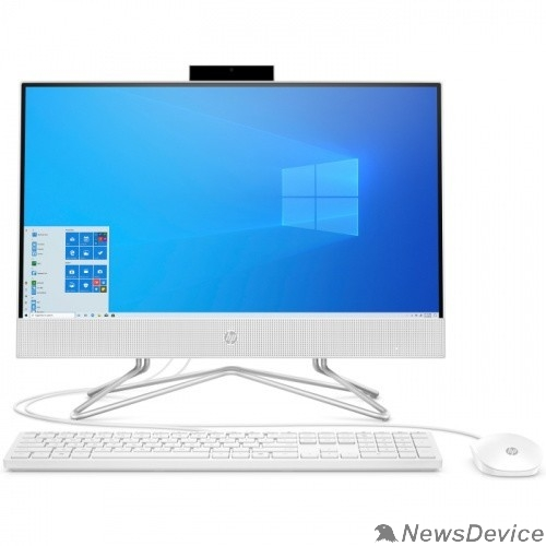 "Моноблок HP 24-df0027ur 14P98EA Snow White 23.8"" FHD TS Ryzen 5 3500U/8Gb/1Tb/DOS/k+m"