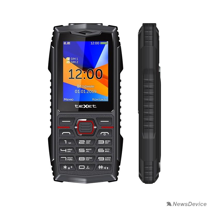 Мобильный телефон TEXET TM-519R мобильный телефон цвет черный-красный