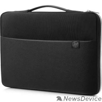 "Опция для ноутбука HP 3XD36AA Чехол 15"" Carry Sleeve blk/silv"