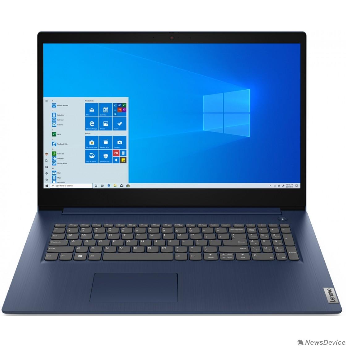 """Ноутбук Lenovo IdeaPad 3 17ADA05 81W2003XRK Abyss Blue 17.3"""" HD+ Ryzen 3 3250U/8Gb/256Gb SSD/DOS"""
